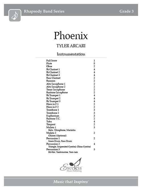 Phoenix - Full Score