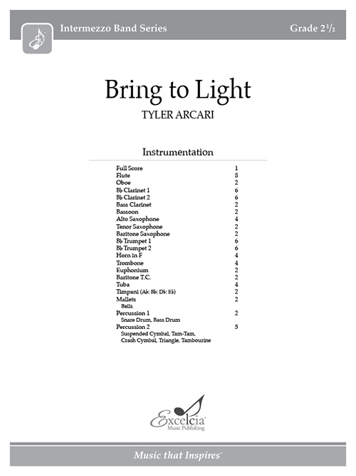 Bring to Light - Full Score