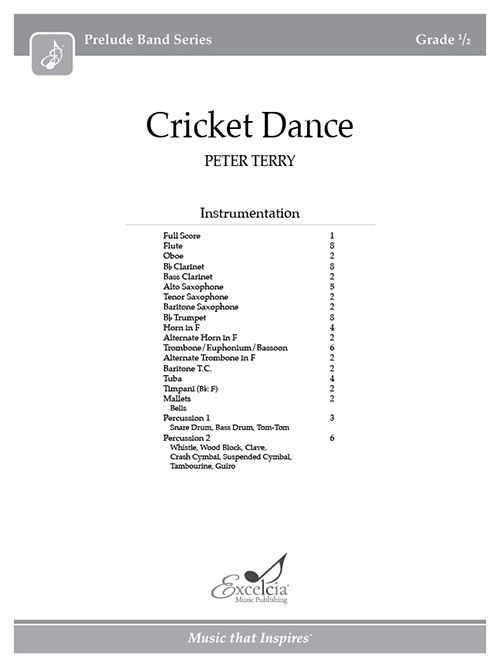 Cricket Dance - Full Score
