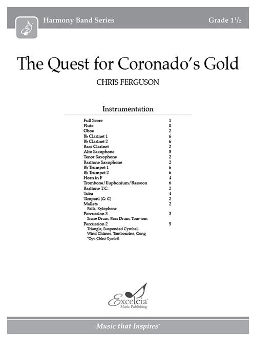 The Quest for Coronado's Gold - Full Score