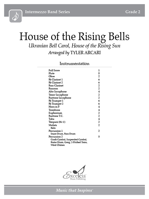 House of the Rising Bells  - Full Score
