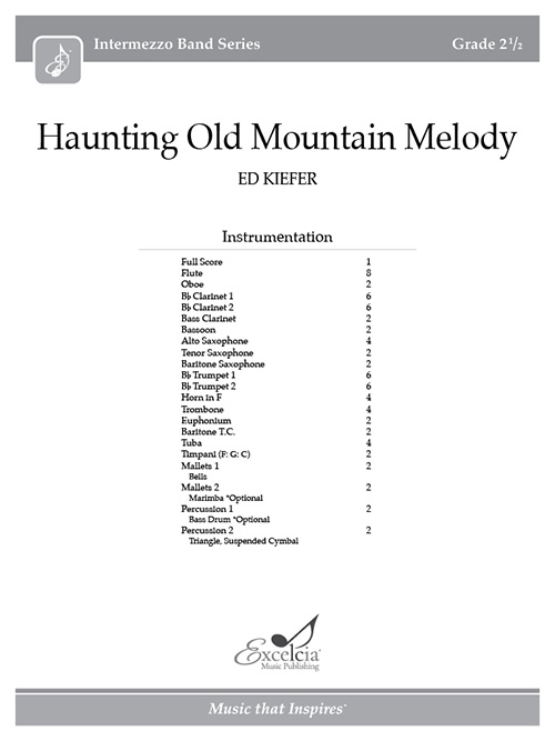 Haunting Old Mountain Melody - Full Score