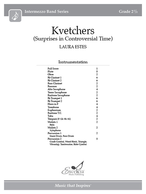 Kvetchers - Full Score
