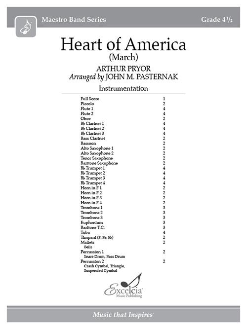 Heart of America - Full Score