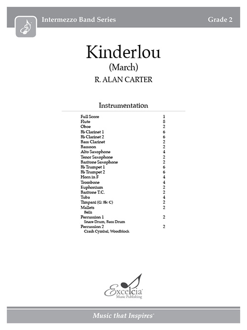 Kinderlou - Full Score