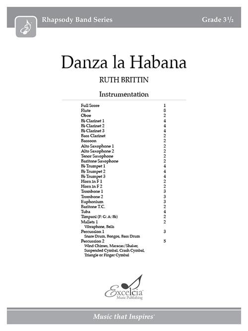 Danza la Habana - Full Score