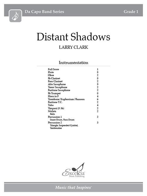Distant Shadows - Full Score