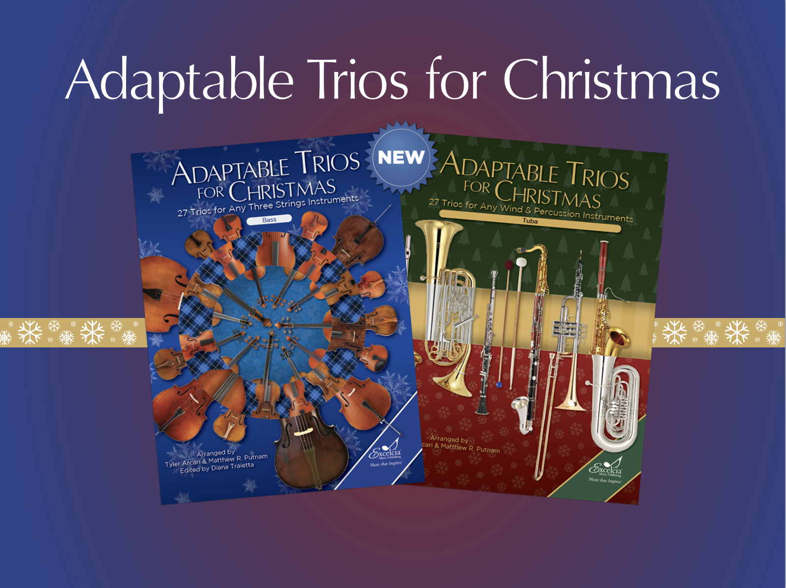 Adaptable Trios for Christmas