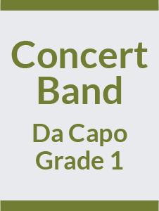 Concert Band Grade 1