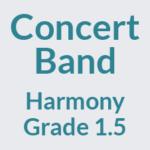 Concert Band Grade 1.5