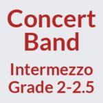 Concert Band Grade 2-2.5