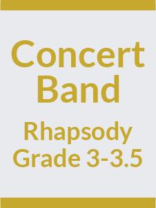 Concert Band Grade 3-3.5