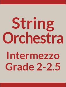 String Orchestra Grade 2-2.5