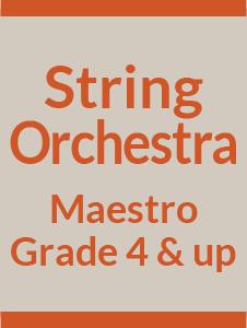 String Orchestra Grade 4 & Up