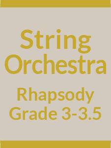 String Orchestra Grade 3-3.5